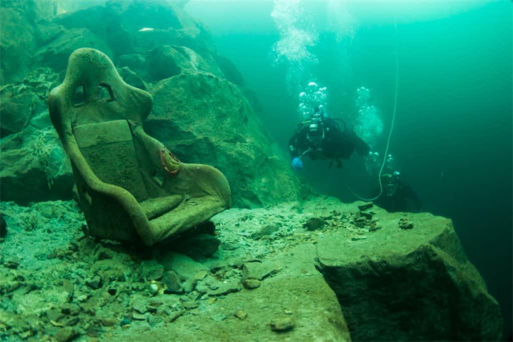 40m depths