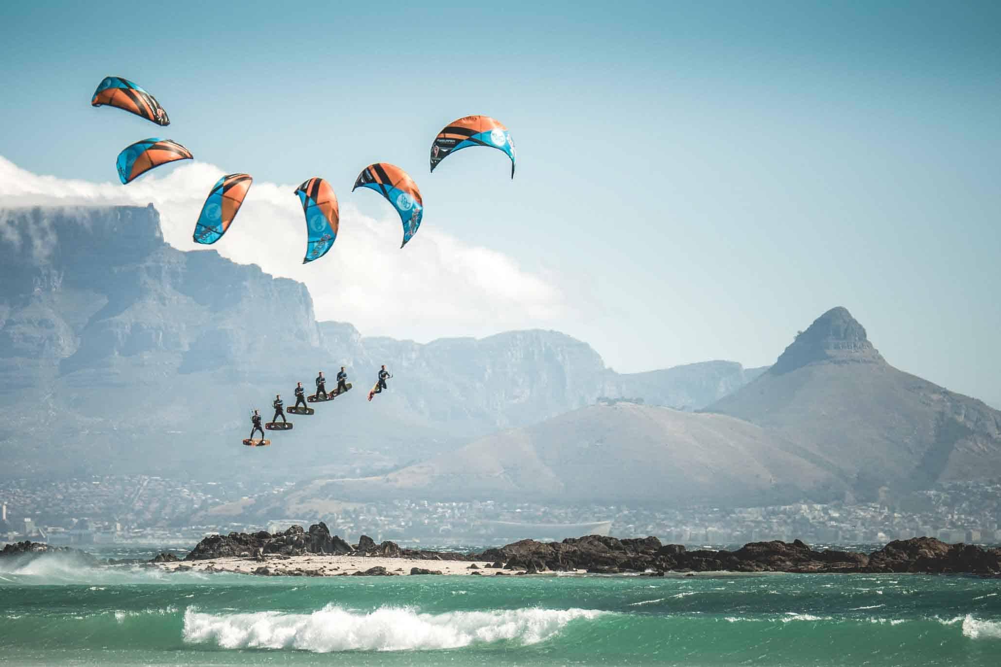 Pro Kitesurfer- Arne