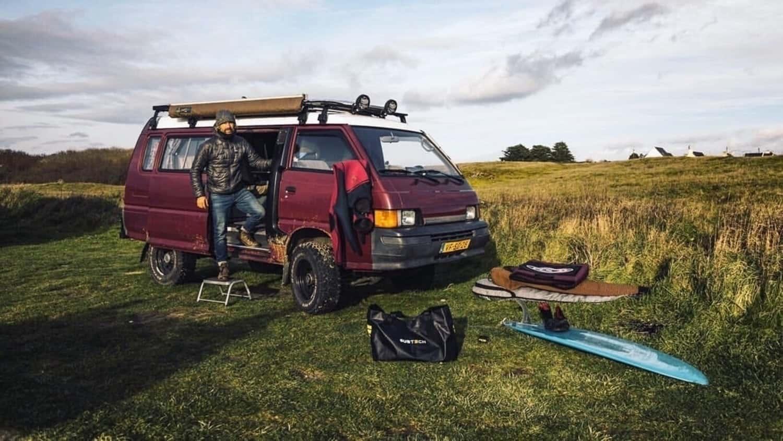 DRY TOTEBAG 90L_Surf van